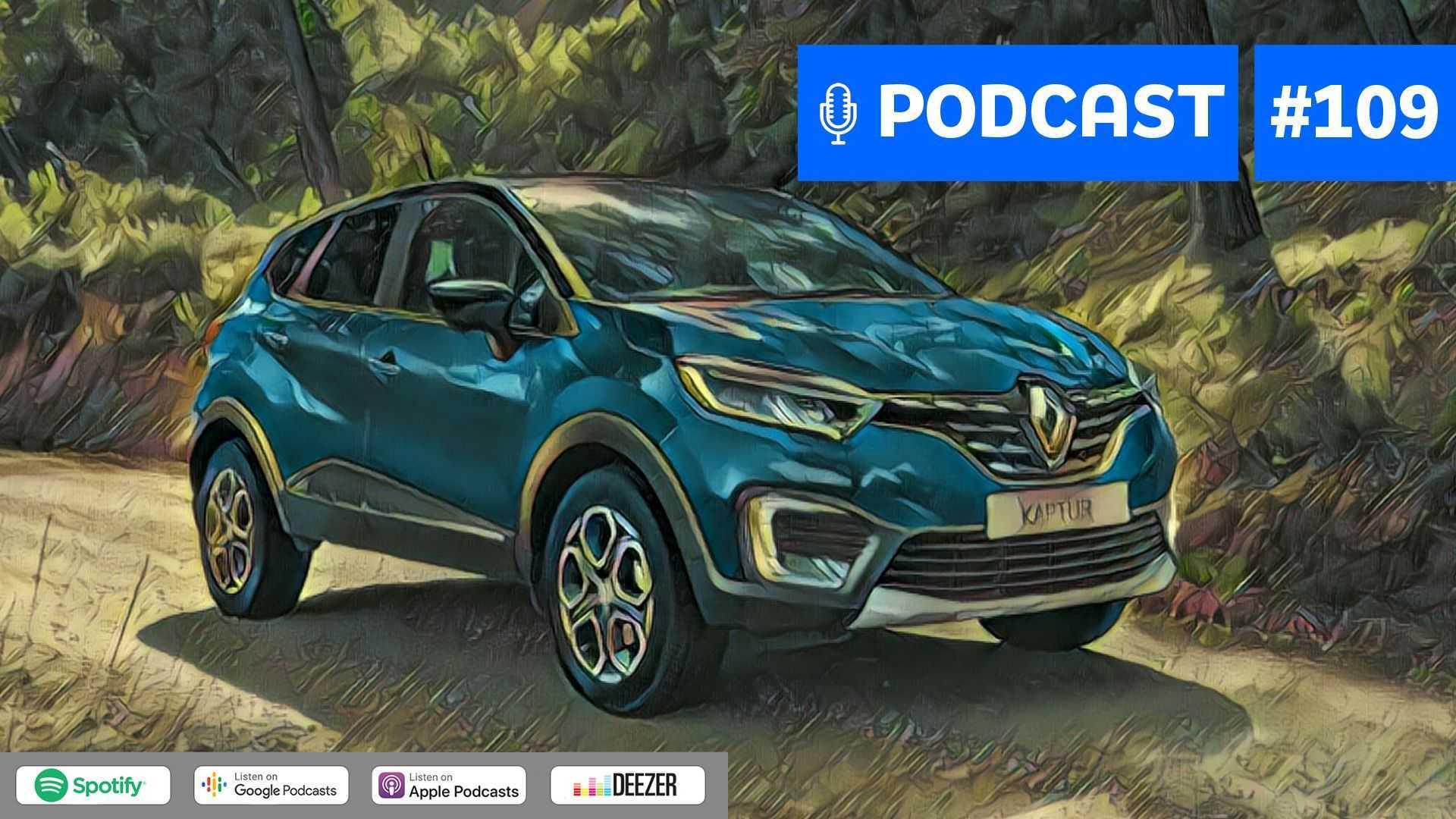 Motor1.com Podcast #109: A renovação da Renault no Brasil até 2022