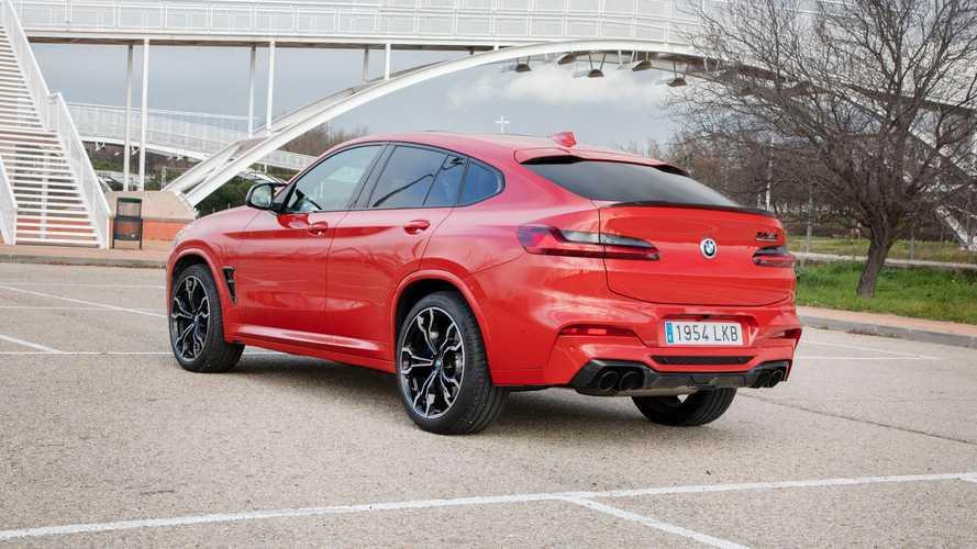 BMW X4 M Competition 2021, a prueba: pura emoción