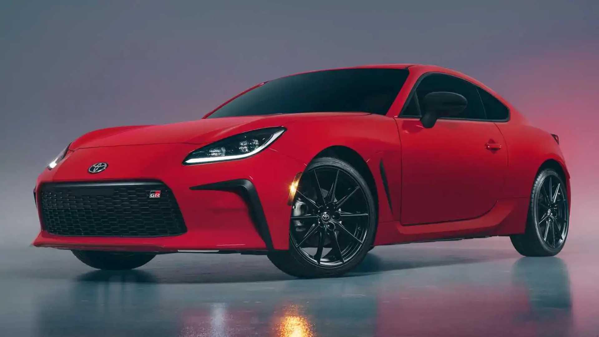 2022 Toyota GR 86 cuarto delantero exterior