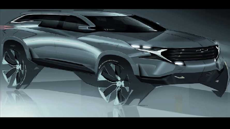 GM Design Shares 'Mean Looking' SUV Sketch With Interesting Features