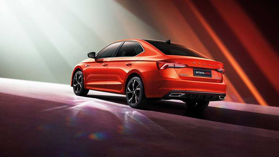 2021 Skoda Octavia Pro (for China)