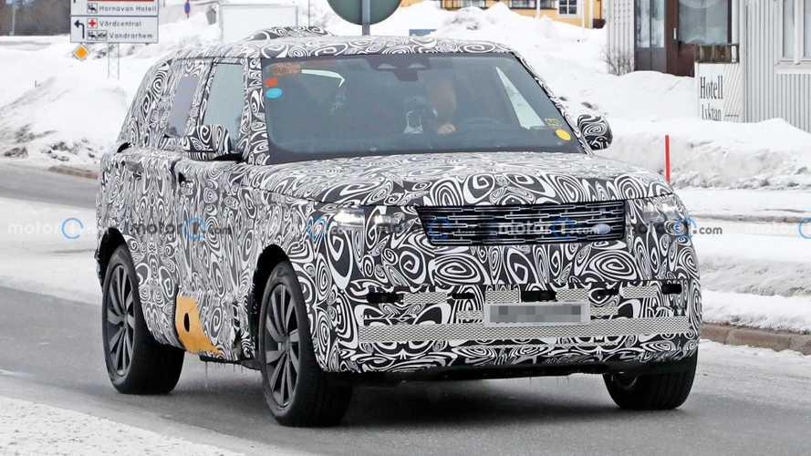 2022 Land Rover Range Rover PHEV Spy Photos