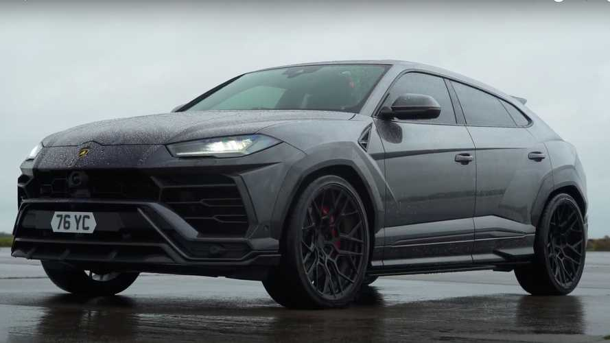 Lamborghini Urus fights BMW X6 M Competition in drag race