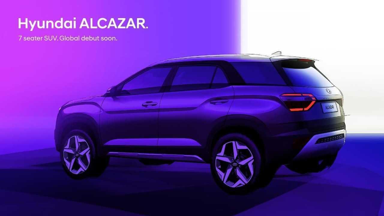Hyundai Alcazar - Teasers