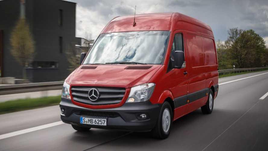 Mercedes, lo Sprinter sale a 5,5 tonnellate