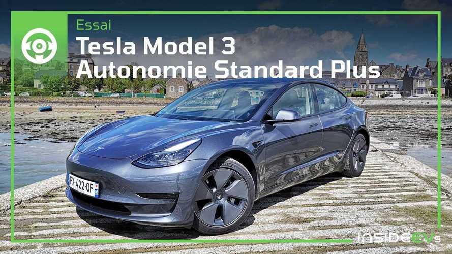 Essai Tesla Model 3 Standard + - Pas une Tesla au rabais !