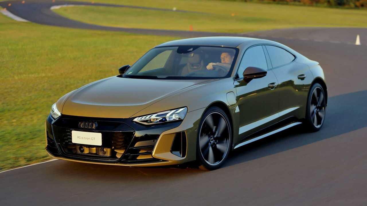 Audi RS e-tron GT - impressões ao dirigir - frente