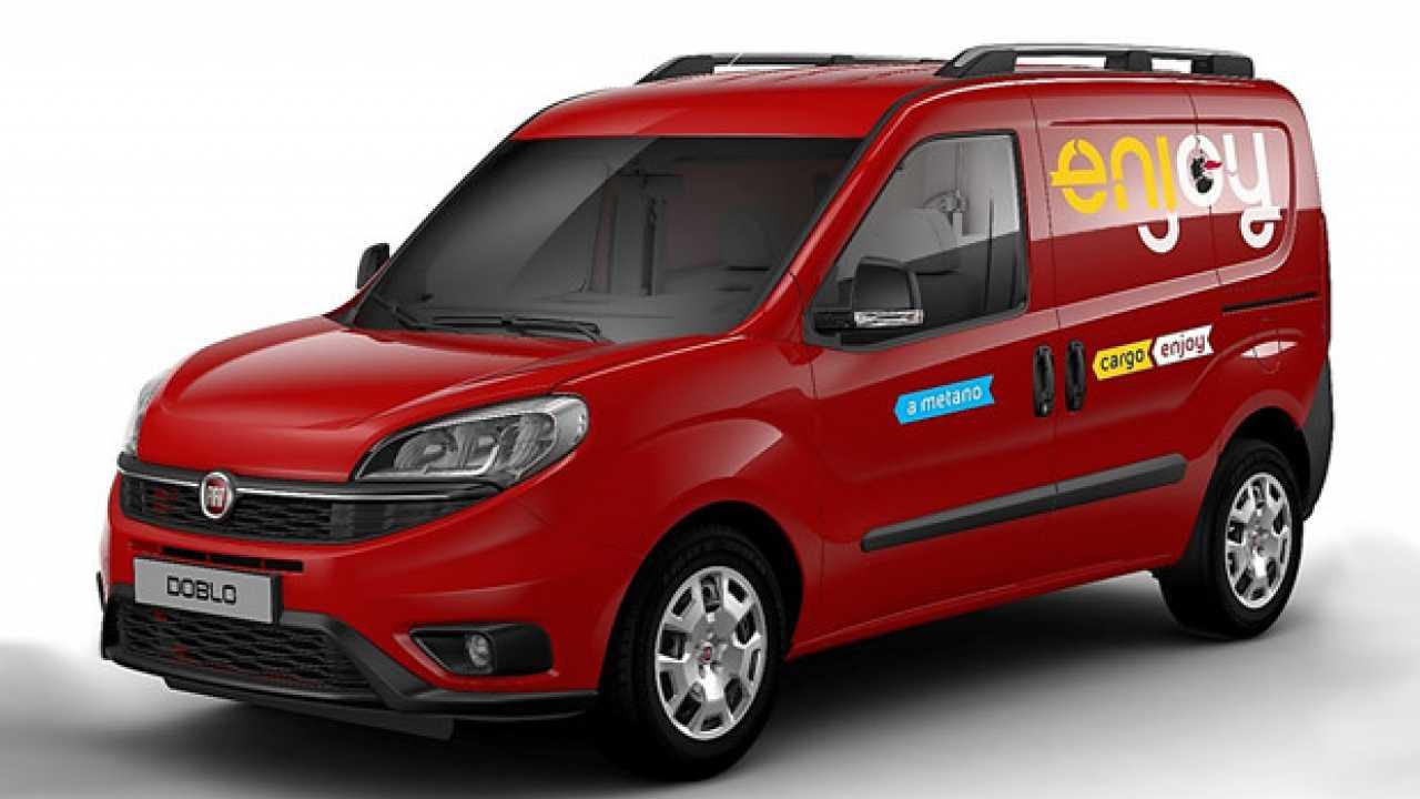 Enjoy lancia il van-sharing con Doblò Cargo