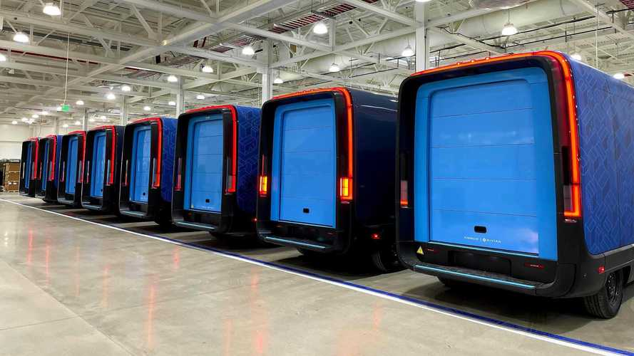 Amazon Delivery Van By Rivian, inizia la produzione