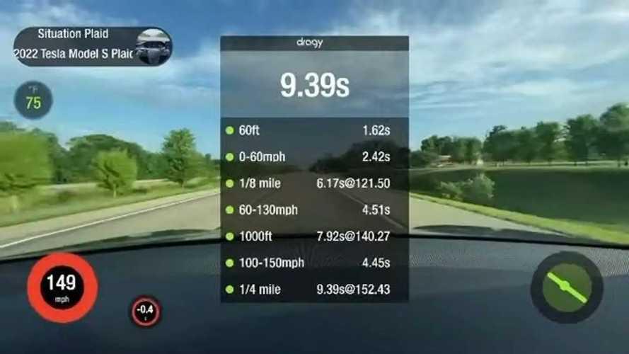 Tesla Model S Plaid: il folle video in soggettiva da 0 a 240 km/h