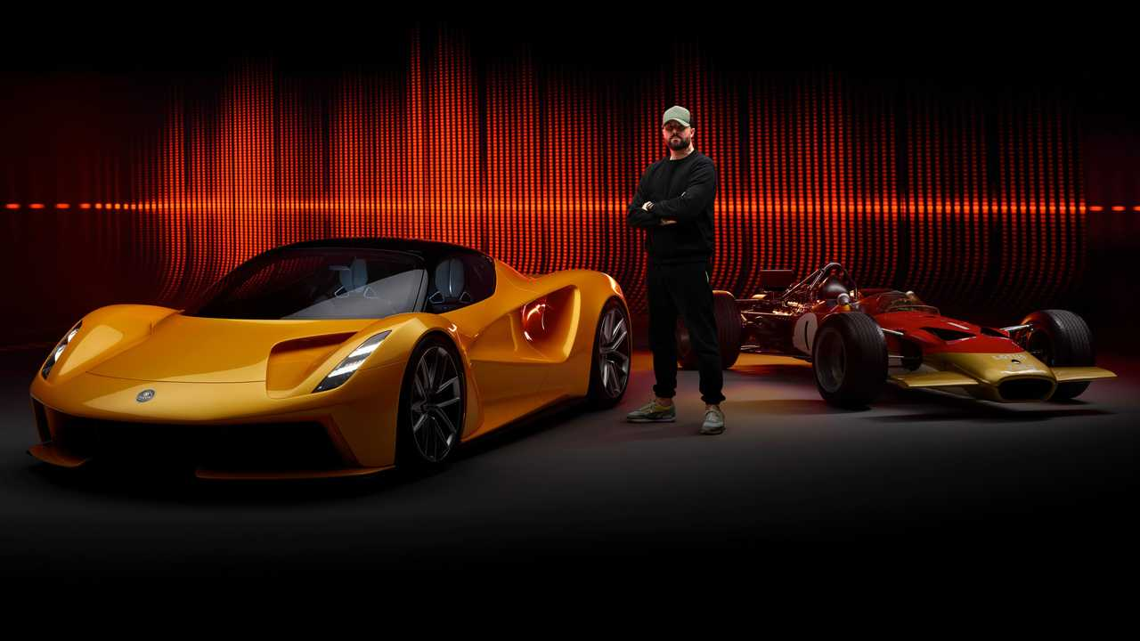 Lotus Evija e il sound della Lotus Type 49