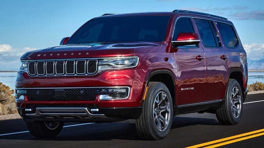 """Novo Jeep Grand Wagoneer ganhará versão alongada para virar """"carro do FBI"""""""