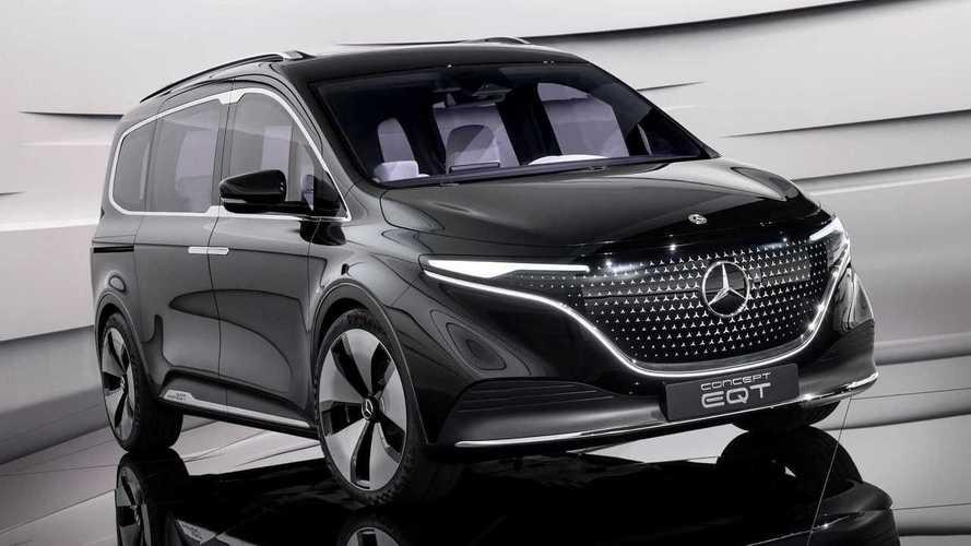 Mercedes Concept EQT: prévia da van elétrica de luxo é revelada