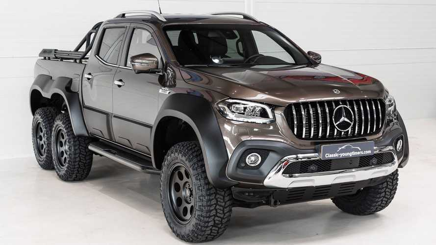 Mercedes X-Class Six-Wheeler Exists And Someone Bought It