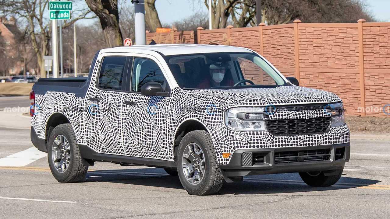 2022 Ford Maverick prototipi