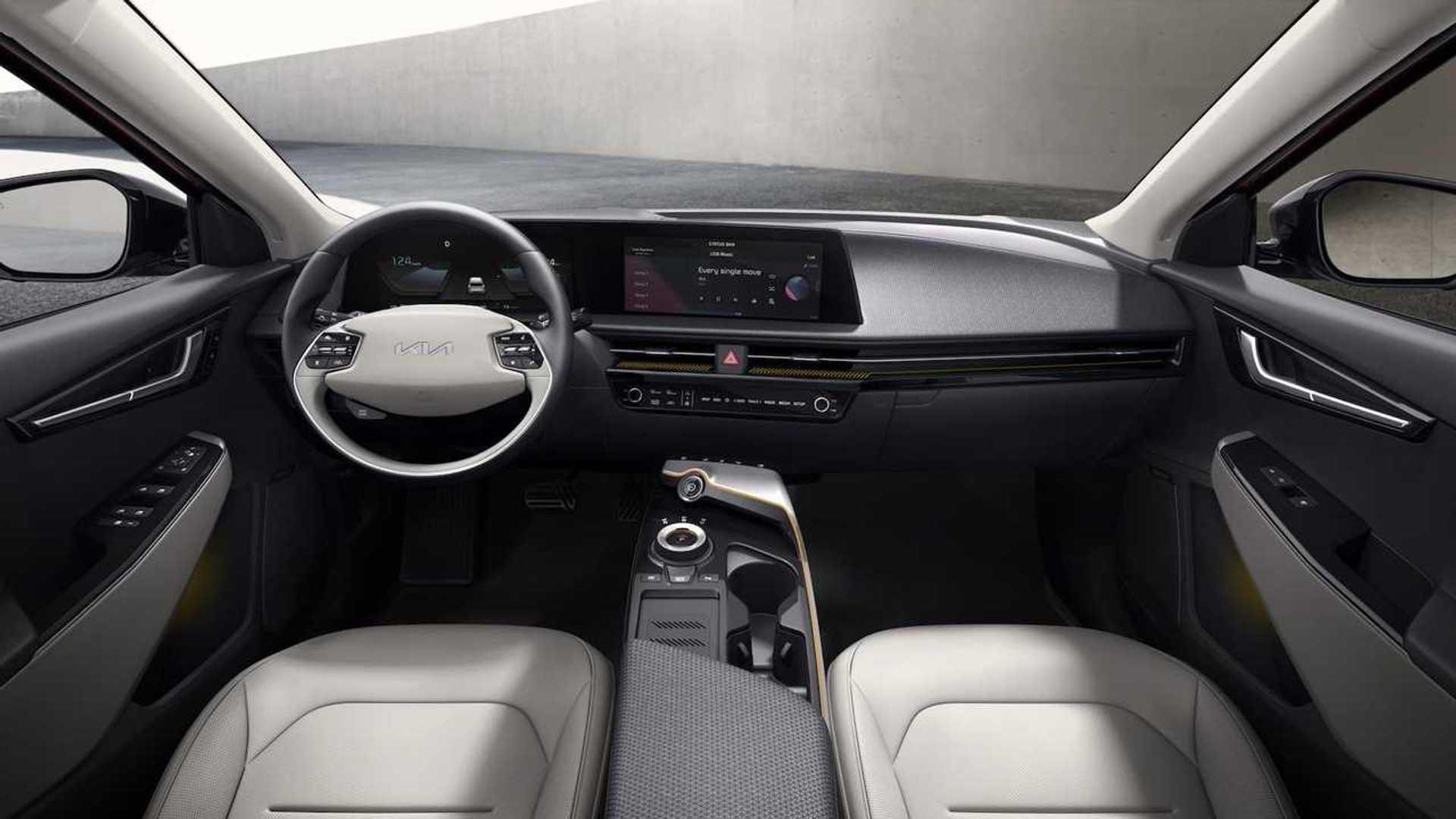 Kia EV6 Front Interior Dashboard
