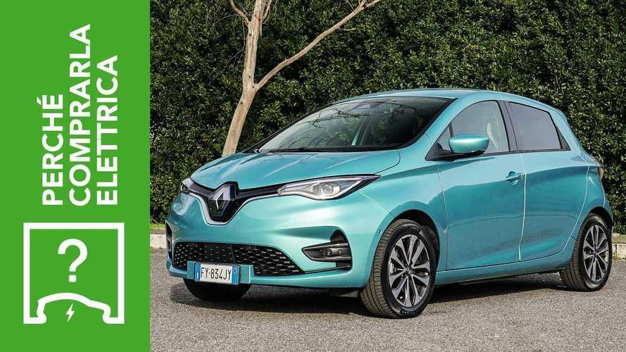 Renault Zoe (2020), perché comprarla elettrica e perché no