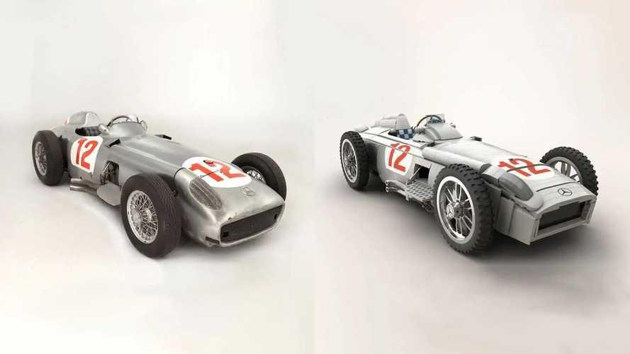 Mercedes-Benz W196 для проекта Lego Ideas