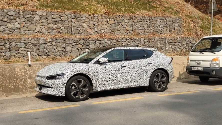 See Camouflaged Kia EV6 Spied Ahead Of World Premiere