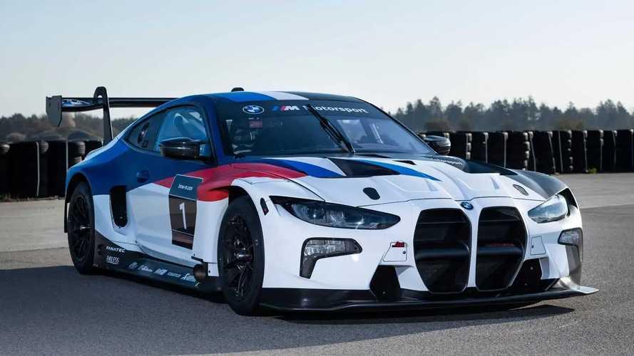 У BMW появился новый гоночный спорткар