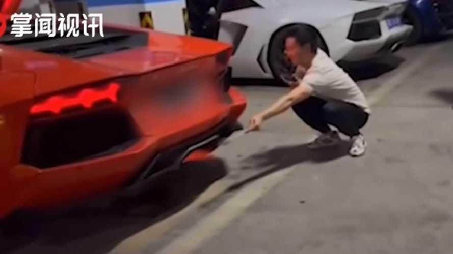 Видео: как шашлык вывел из строя двигатель Lamborghini Aventador