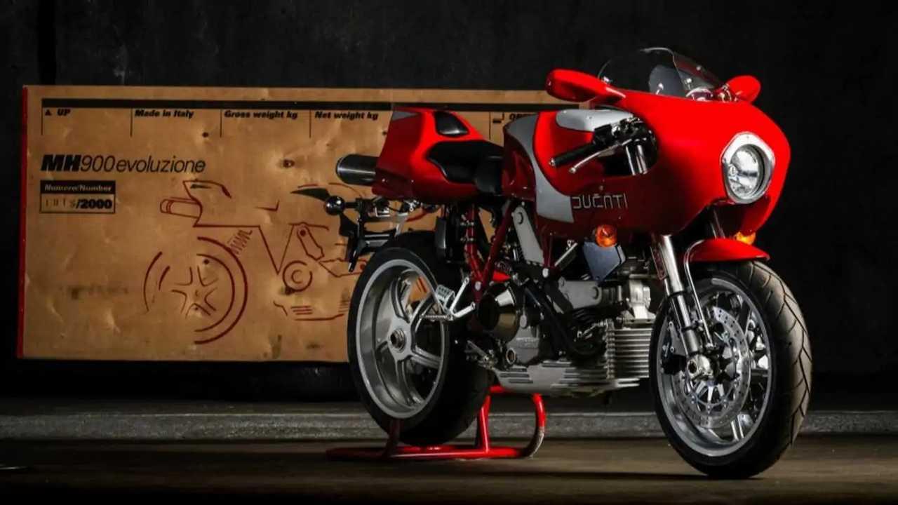 2002 Ducati MH900e For Sale Bring A Trailer