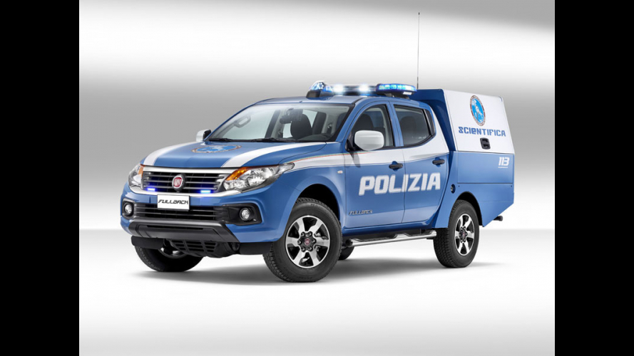 Fiat Fullback Polizia Scientifica