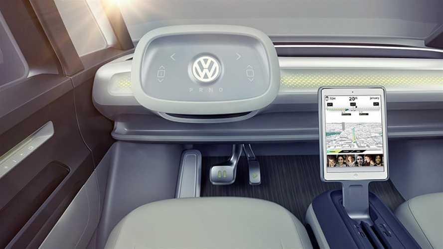 La guida autonoma Volkswagen parte dai furgoni