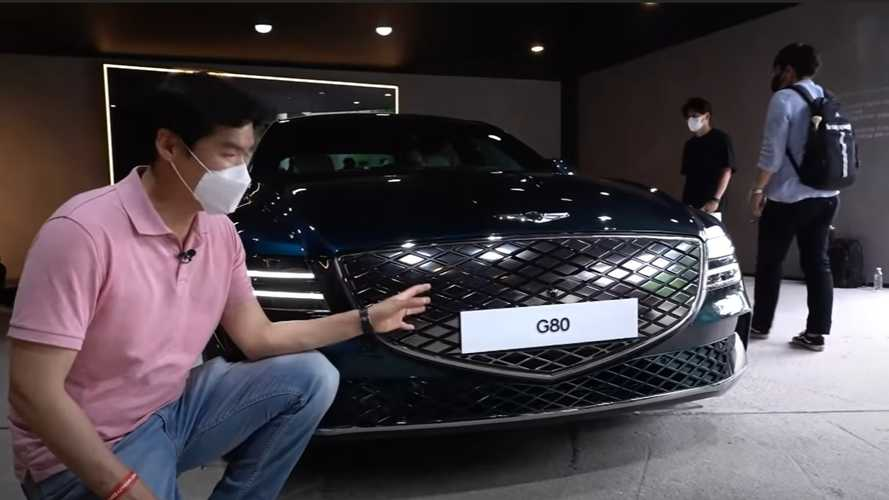 Genesis Electrified G80 Shows Solar Roof, Other Features On Camera