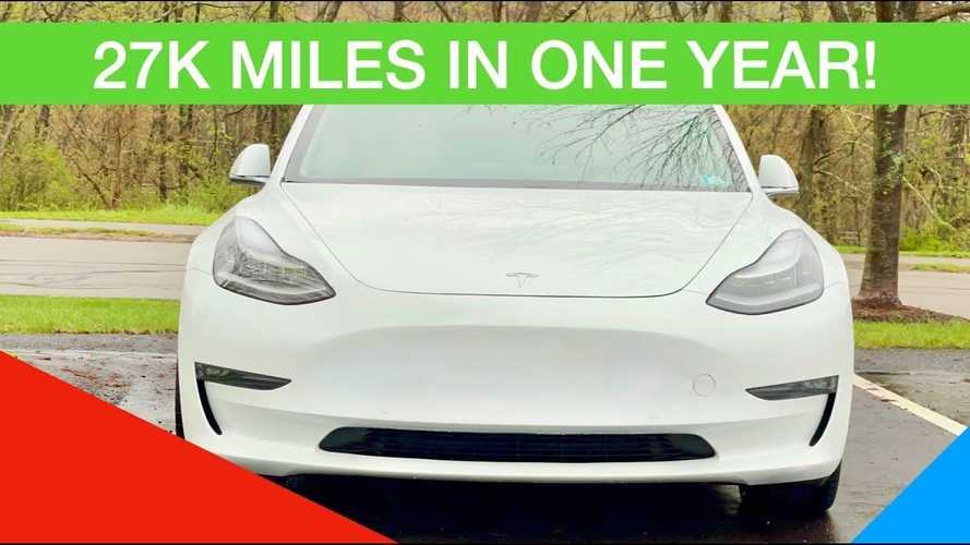 Tesla Model 3: Quick Share Of Thoughts After 1 Year & 27K Miles
