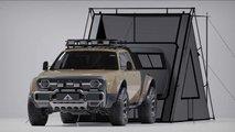 Der Alpha Wolf Plus ist ein elektrischer Pick-up-Camper