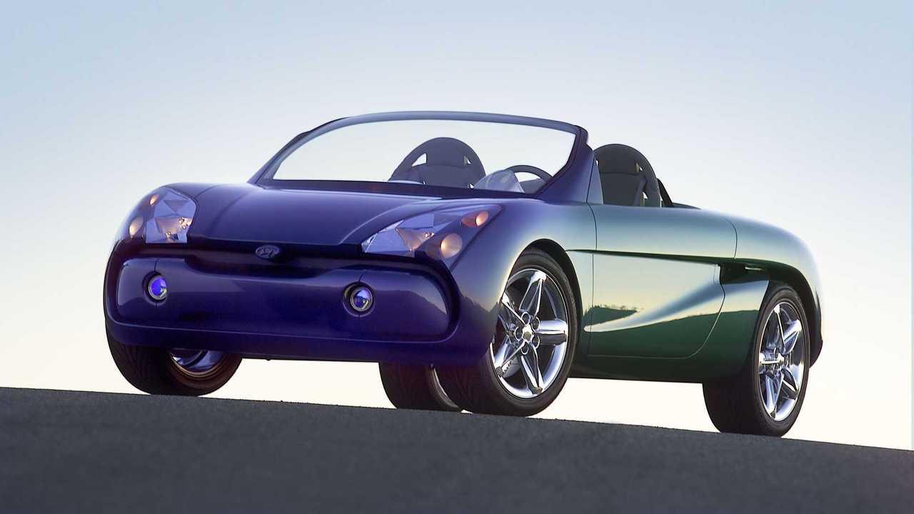 Mit dem Hyundai HCD6 zeigte man 2001 eine hübsche Roadster-Studie