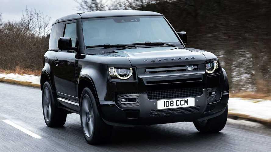 Land Rover Defender V8: con motor de 525 CV