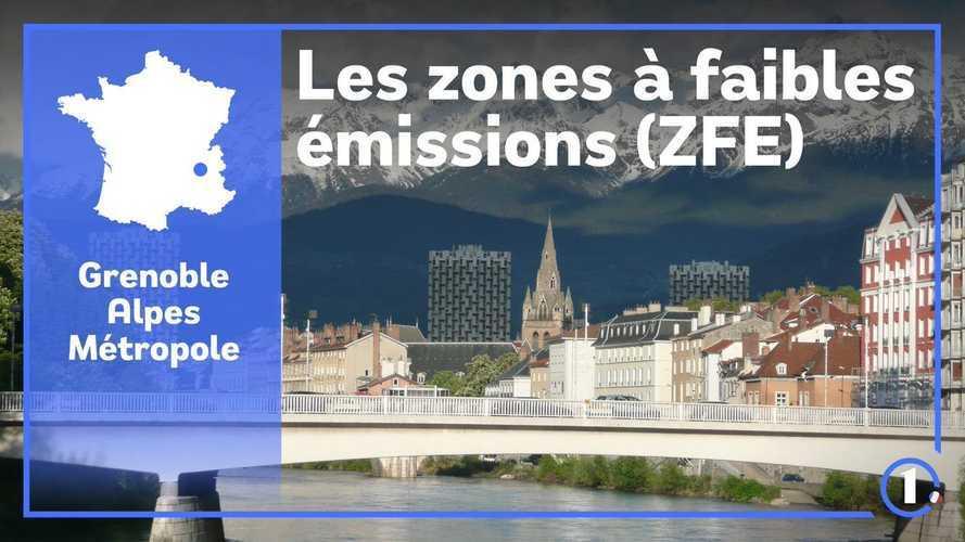 ZFE de Grenoble - Son périmètre, les véhicules concernés, les sanctions...