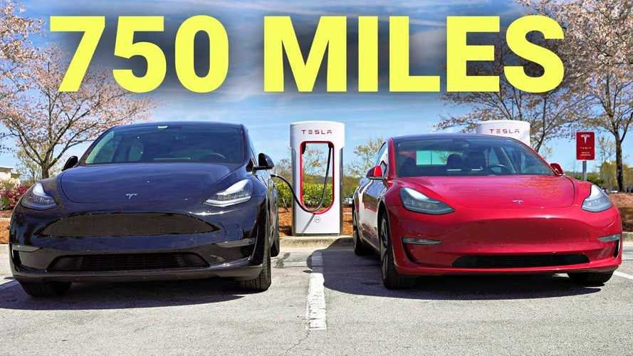 Tesla Model 3 vs Model Y: Road trip range & charging battle