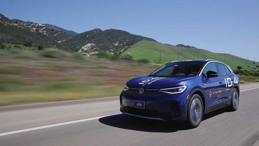 Volkswagen ID.4 EV completes cross-country drive
