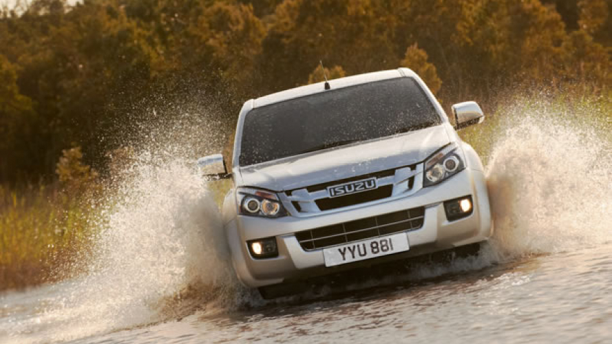 Nuovo Isuzu D-Max, debutto in UK