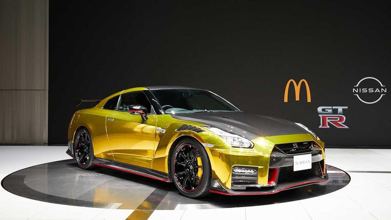 Nissan GT-R Nismo McDonalds