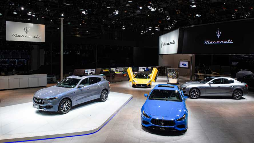 Maserati Hadir Menarik Perhatian di Shanghai Auto Show 2021