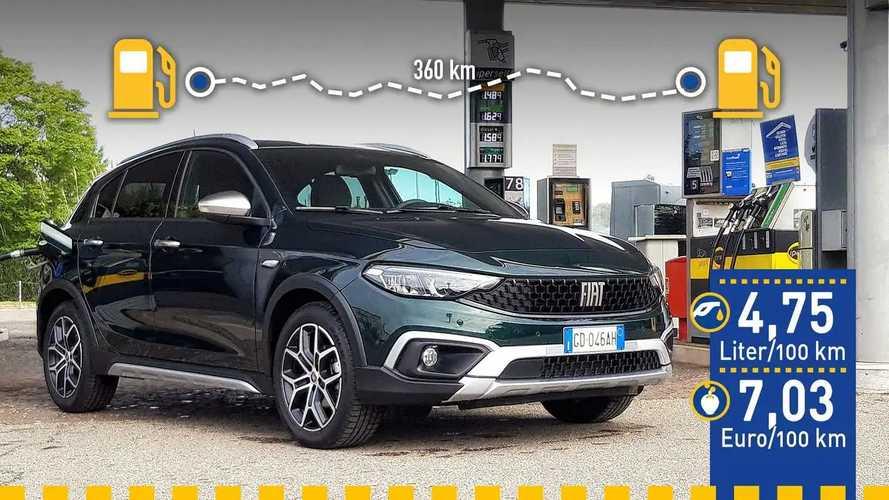 Tatsächlicher Verbrauch: Fiat Tipo Cross 1.0 T3 100 PS im Test