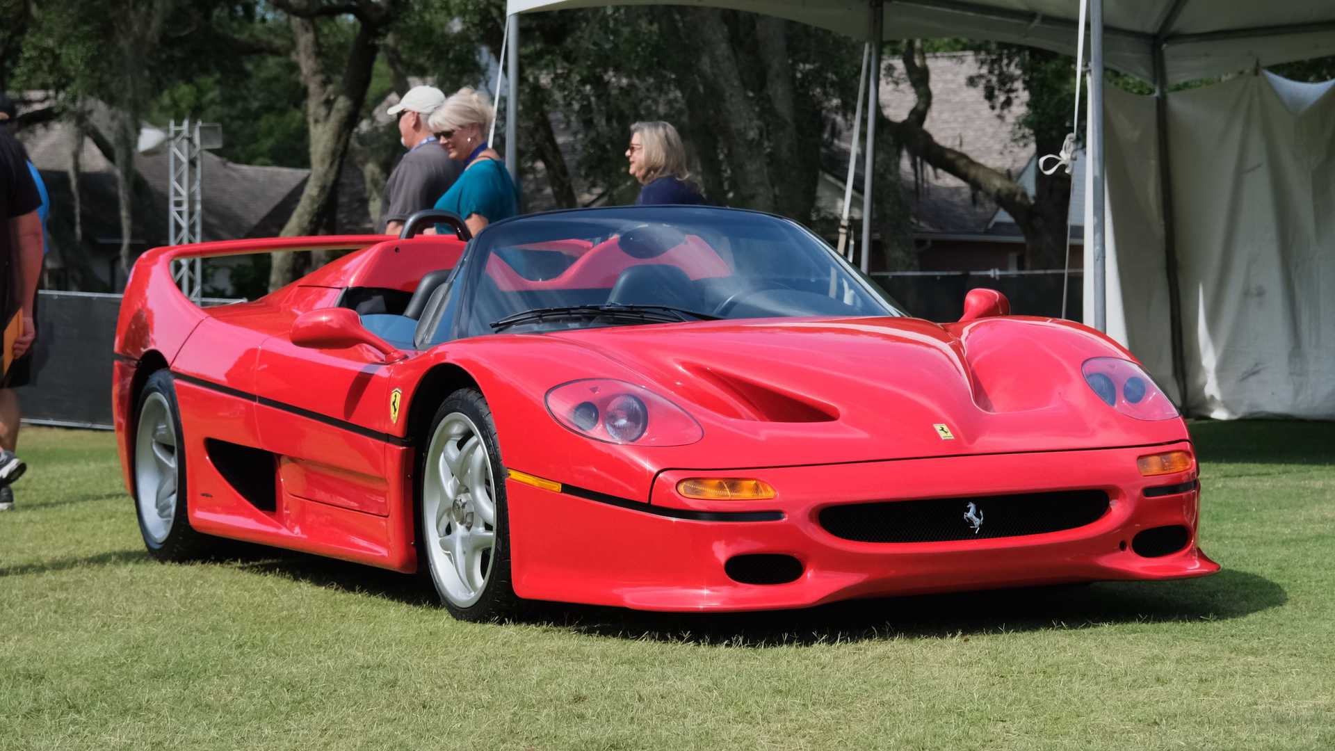1995 Ferrari F50 At Amelia Island Concours d'Elegance