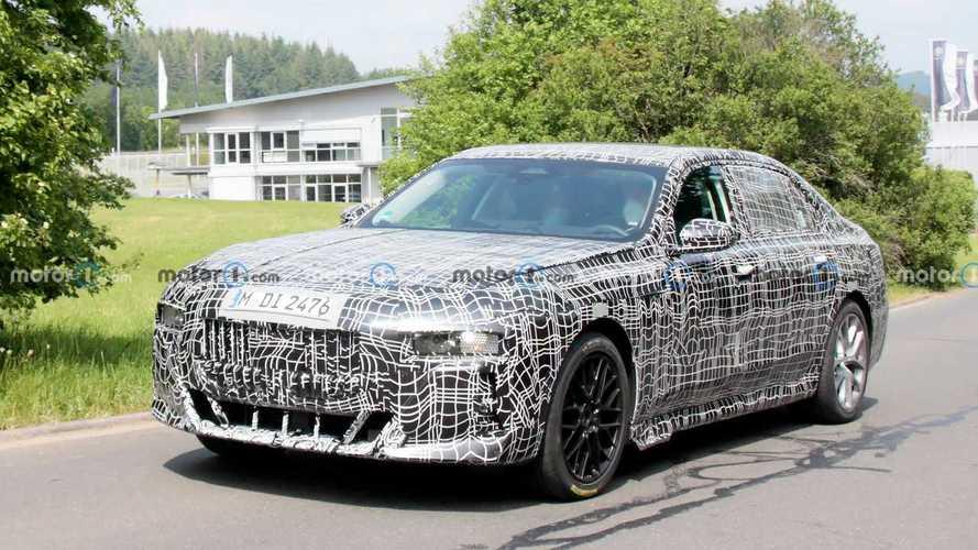 Un concept-car annonçant la future BMW Série 7 en septembre prochain