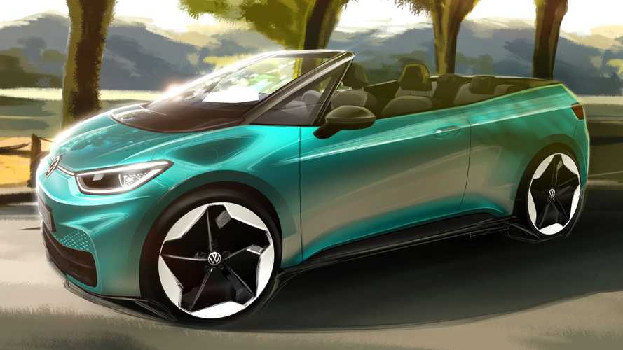 Volkswagen Teases Electric ID.3 Cabriolet