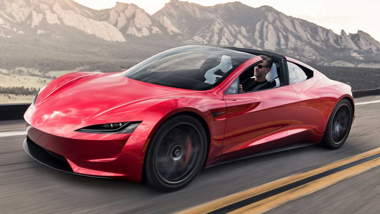 Tesla Roadster SpaceX hits 60 mph in 1.1 seconds, according to Musk.