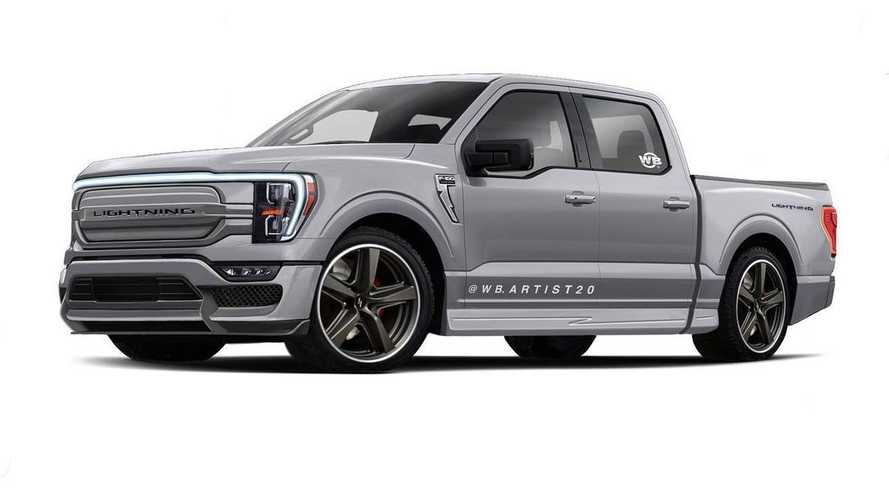 Maybe This Is What The 2022 Ford F-150 Lightning Looks Like