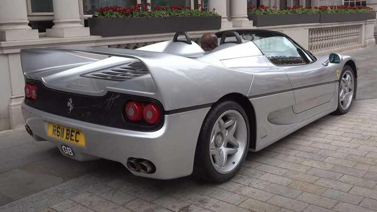 Straight Piped Ferrari F50