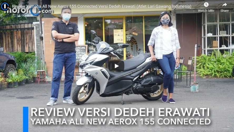 Review Yamaha All New Aerox 155 Connected, Dedeh Erawati Terkesan