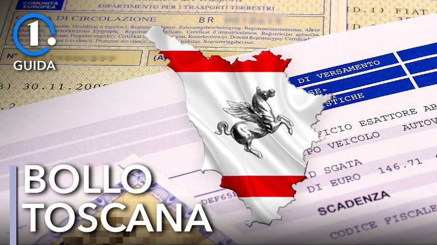 Come si paga il bollo auto in Toscana