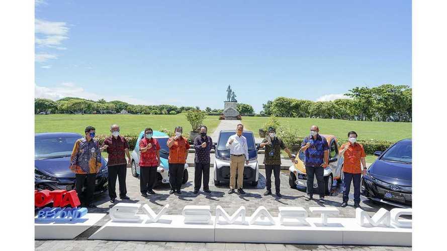 3 Mobil Listrik Toyota dalam Proyek EV Smart Mobility di Bali