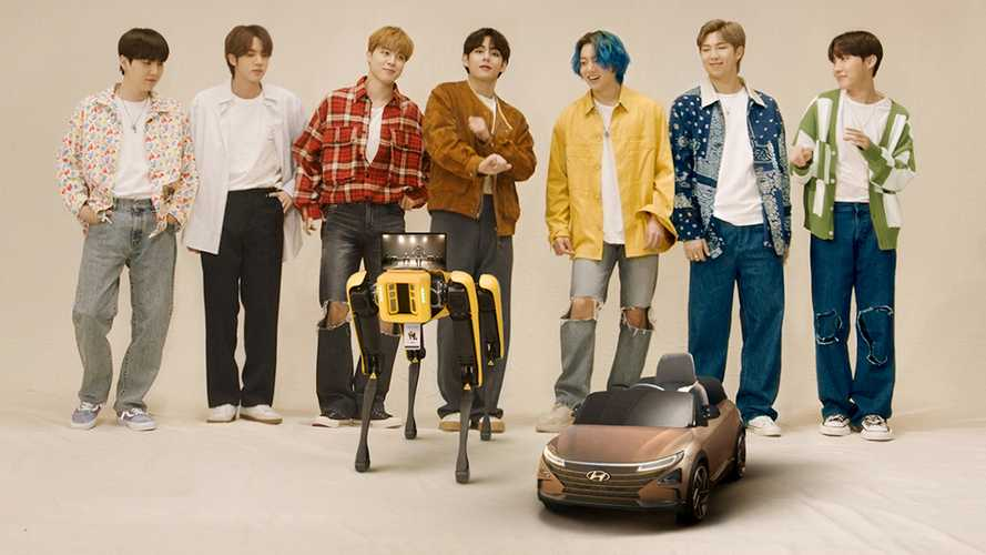 Hyundai shows off dancing robot dog in new video with BTS